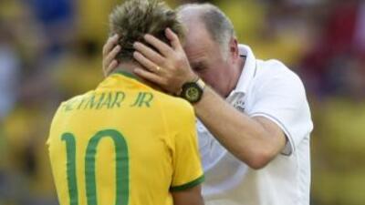 Chile estuvo muy cerca de derrotar a Brasil, Neymar no pudo contener las...