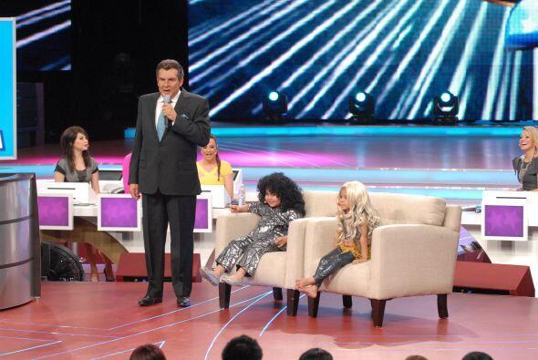 Fátima imitó con gran éxito a la reconocida cantante  Amanda Miguel.