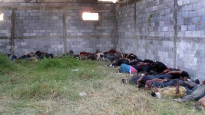 Masacre en Tamaulipas 2011.