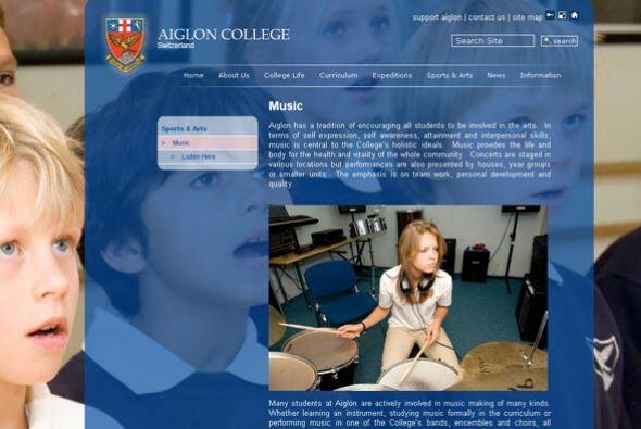 El internado, reconocido como uno de los colegios con más prestigio en s...