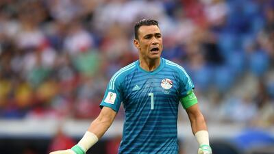 El Hadary se retira de la selección de Egipto a los 45 años