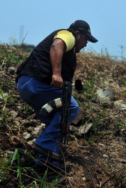 Colom indicó que fueron decapitadas 25 de las 27 víctimas del ataque ocu...