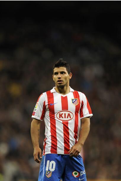El 'Kun' ha sido la mayor apuesta del técnico Quique Sánchez Flores en e...
