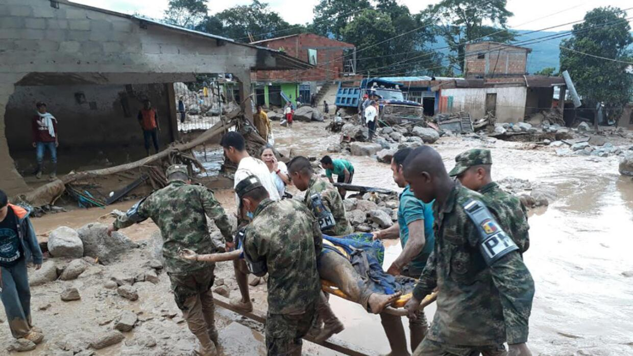 Rescuers still searching for survivors after flood disaster in southern...