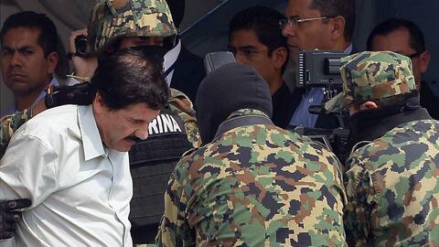 'El Chapo' Guzmán pasó la noche en una cárcel de Nueva York y será prese...