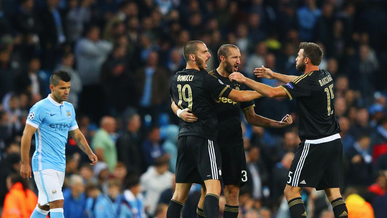 La Juventus se llevó los tres puntos de casa de Manchester City.