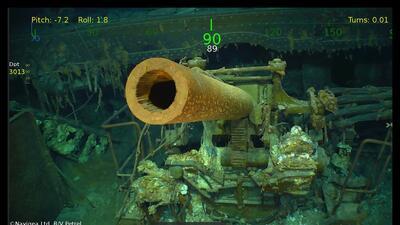 El USS Lexington es hallado 76 años después de hundirse en el Océano Pacífico (fotos)