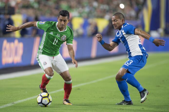 Seleccionados México vs. Honduras