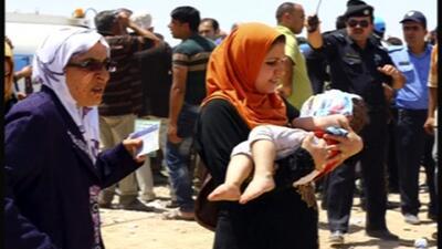 Más de medio millón de desplazados por oleada de violencia en Irak