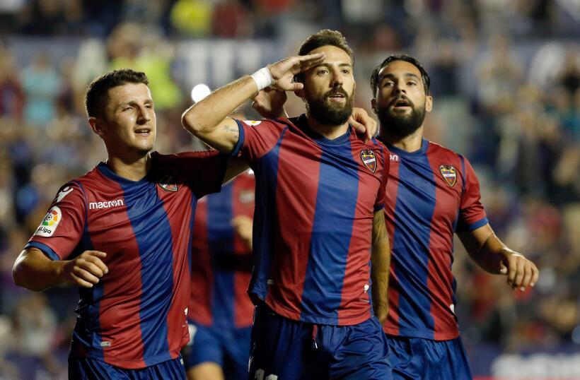 Real Sociedad y Carlos Vela fueron goleados por el Levante 6364163463090...