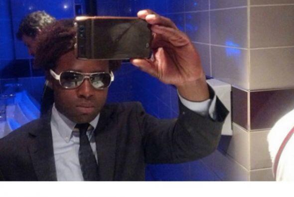 Hay personas que a la hora de tomarse una selfie no se preocupan mucho p...