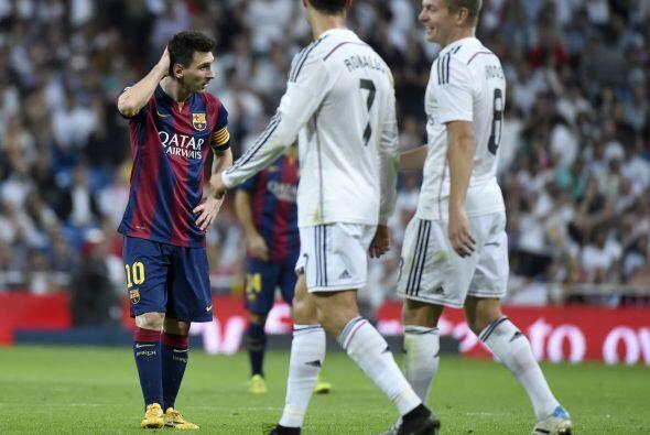 Desconcierto del Barcelona que se veía claramente superado.
