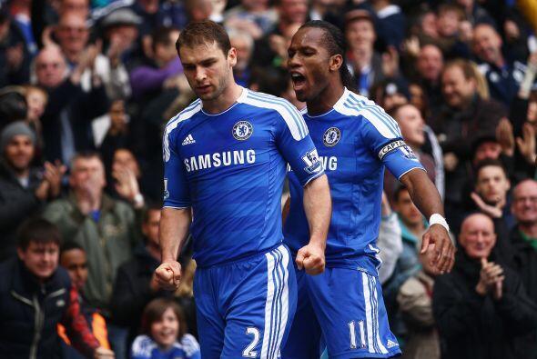 Los 'Blues' festejaron ya que siguen subiendo en la tabla de posiciones.