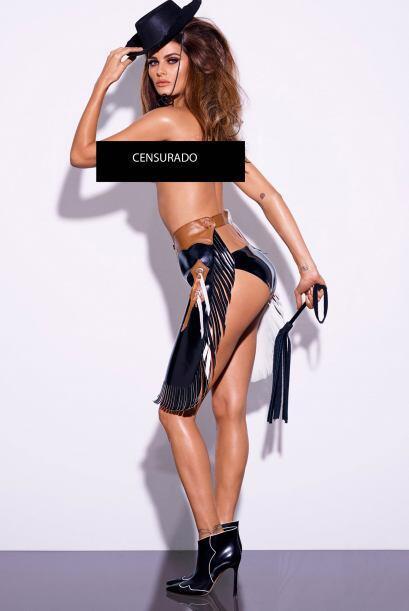 En cada una de las imágenes podemos ver como las modelos se convirtieron...