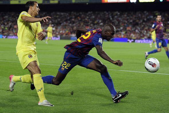Villarreal tuvo una ligera reacción en busca del empate.