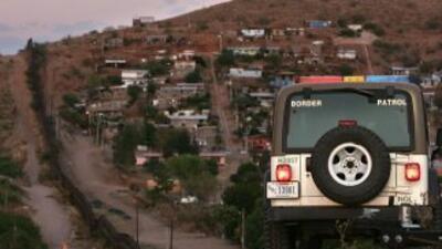 La frontera entre EEUU y México, a la altura de Arizona.