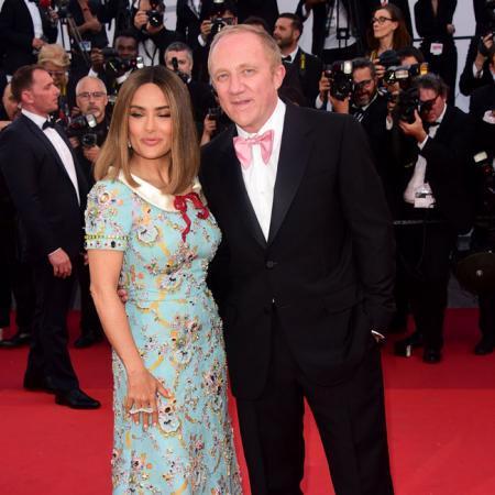 Salma Hayek y su marido François-Henri Pinault