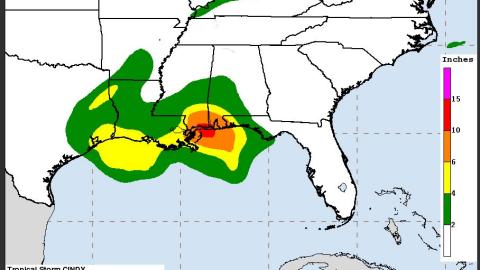 El centro de análisis de huracanes de EEUU aseguró que la...