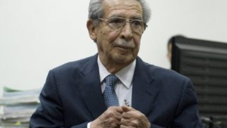 Elgeneral golpista José Efraín Ríos Montt (1982-1983).