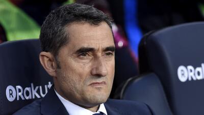 Los números de Valverde con el Barcelona, luego de su primera caída en liga ante el Levante