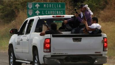 Las autodefensas en Michoacán avanzan y liberan más poblados