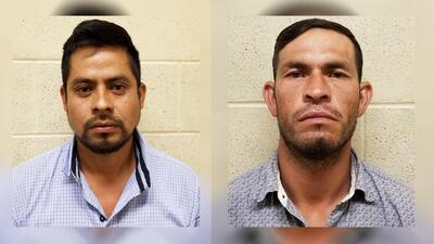 Abigael Calvo (izg) y Juan Herrera permanecen en custodia de las autorid...