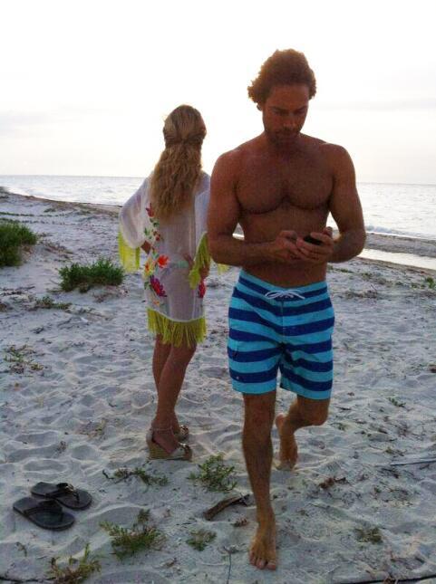 Las vacaciones de Angelique y Sebastián
