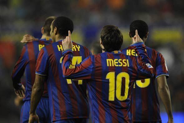 Messi, siempre presente, hizo el tercero para completar la pizarra y el...