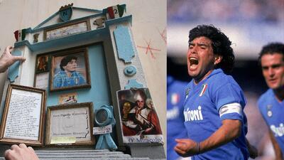 Diego Maradona y Napoli, una historia de amor que cumple 30 años