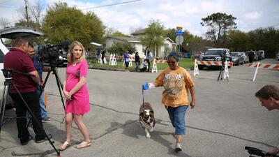 Residentes de Austin vivieron momentos de terror con las explosiones de...