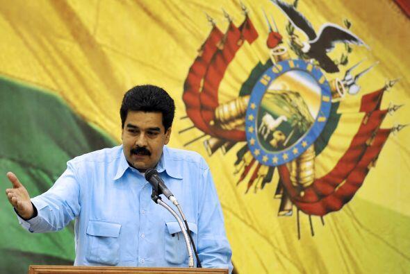 Con respecto a ese rubro, Maduro señaló: 'vamos a seguir atendiendo de m...