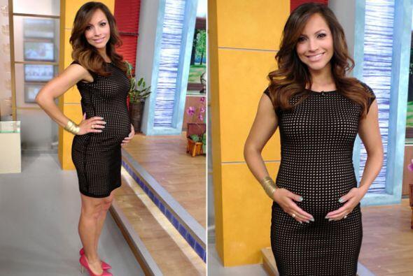 Satcha Pretto le da la bienvenida a la semana 28 de su embarazo.