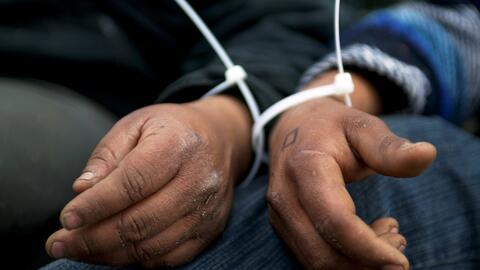 Las detenciones de indocumentados aumentaron casi en un 40% en los prime...