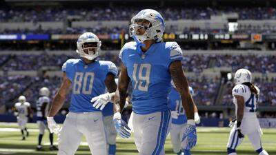 Kenny Golladay hizo dos touchdowns en Indianapolis