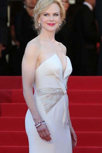 """La bella Nicole Kidman, mostró su talento musical en la cinta """"Moulin Ro..."""