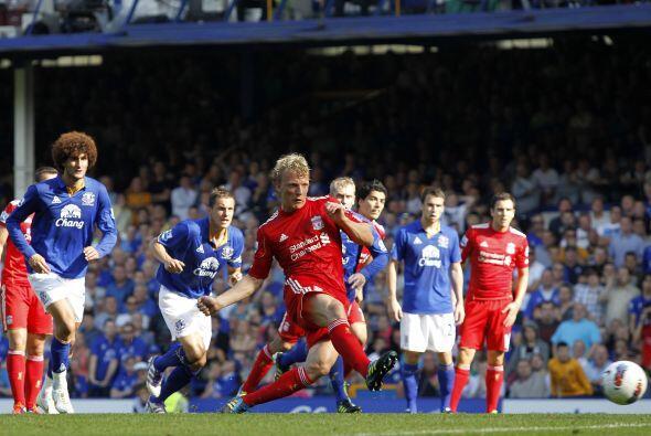 El árbitro cobró penal y el Liverpool tenía la posibilidad de ponerse ar...