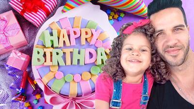 La tierna petición del chef Yisus en el cumpleaños de su hija Anabella