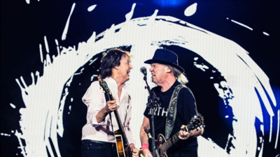 Paul McCartney tocó 'Give Peace a Chance' con Neil Young y el mundo ya e...