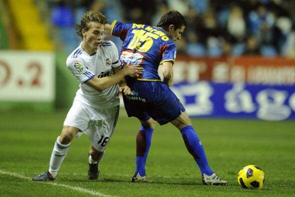 También vieron acción los juveniles, como Sergio Canales.