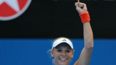 La danesa se enfrentará en cuartos de final con la polaca Agnieszka Radw...