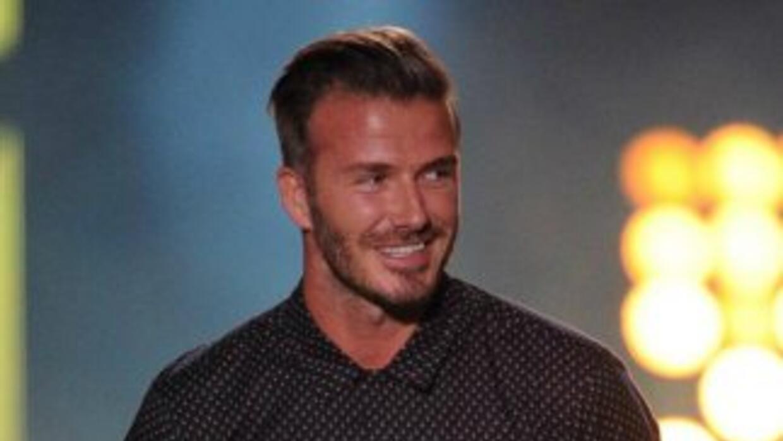 David Beckham motociclista