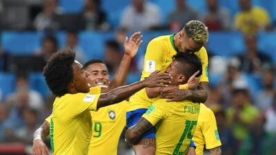 En fotos: Brasil derrotó 2-0 a Serbia y se confirmó como rival de México en octavos