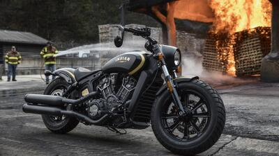 Indian Scout Bobber 'Jack Daniels'