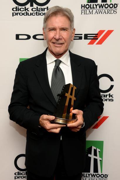 En estos premios dijeron presente muchos famosos, como Harrison Ford. Mi...