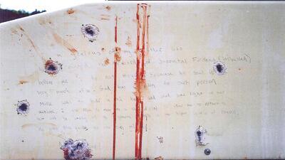 Revelan carta que Tsarnaev escribió en bote en el que se escondió