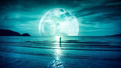 Superluna, Luna azul y lluvia de estrellas traen amor y misterio en enero
