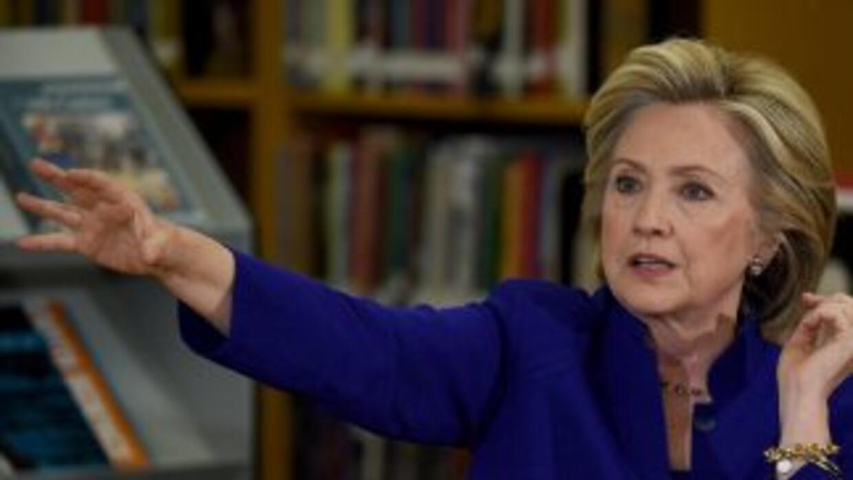 Hillary Clinton en Las Vegas, Nevada.