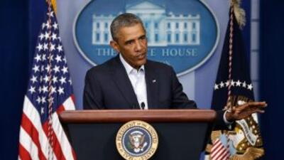 El pasado mes de septiembre Obama amplió la duración de la alerta terror...