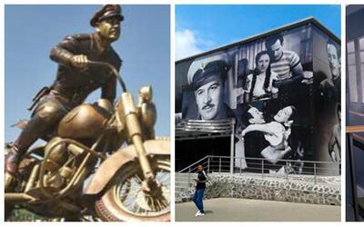 Monumentos y homenajes a Pedro Infante a 100 años de su natalicio.