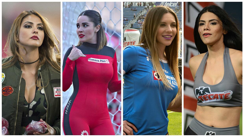 Los estadios de la Liga MX se iluminaron con hermoso rostros que acapara...